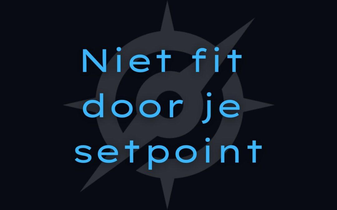 Het setpoint